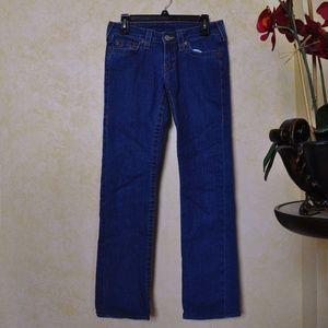 True Religio Straight Leg Denim Jeans